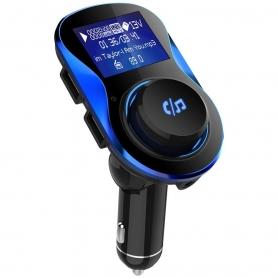 "Modulator FM, MP3 player, FM kit, bluetooth, 2xUSB, 5V/3.1A, TFcard, LCD 1,40"", AUX, USB audio player suport universal"