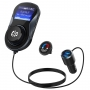 Modulator FM, Quick Charge 3.0, Bluetooth, Wireless hands-free, LCD 1.44, MP3 player, FM kit, USB 2.4A, QC3.0