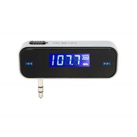 Modulator Bluetooth MP3 player, Wireless transmitator FM, 3.5mm Jack Input, Hands Free Car Kit pentru smartphone iOs, Android