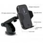 Incarcator auto Fast charge, automatic infrared senzor, wireless QI  pentru Iphone 8, Iphone X,  Samsung