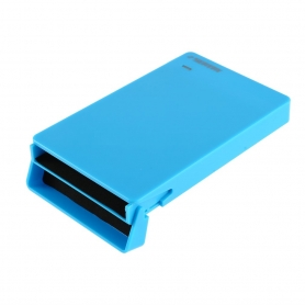 "Carcasa Rack Extern Hard Disk / SSD 2.5"", USB 3.0, hdd sata 3, Led indicator, albastru"