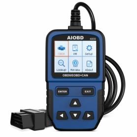 Tester auto profesional AIOBD 4009 diagnoza OBD2 Auto Diagnostic Scanner, testeaza erorile legate de emisie