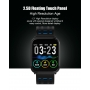 Ceas Smartwatch 2019, fitness, TENSIOMETRU SI MONITORIZARE INIMA, ALBASTRU