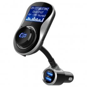Modulator FM,  BC26BQ, Bluetooth, Wireless hands-free, LCD 1.44 , MP3 player, FM kit, USB 2.4A, TF Card