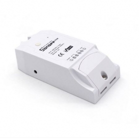 Intrerupator WiFi Sonoff Pow cu masurarea consumului de putere