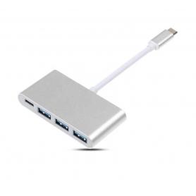 USB 3.1 de tip C cu 4 porturi