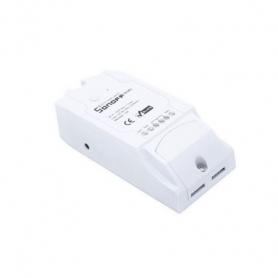 Intrerupator WiFi Sonoff Dual cu 2 canale (220V)
