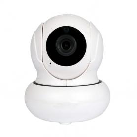 Camera de supraveghere K21, Wifi, microfon, difuzor, IP 1080P, detectare fata, rotire automata, senzori miscare