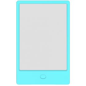 Tableta LCD  8.5 inch, scris si desenat pentu copii, H8LB, ecran transparent, albastru, o singura culoare de desen