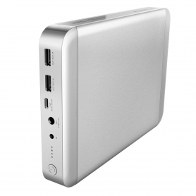 Incarcator powerbank 36000 mAh pentru Macbook PRO, AIR, iPad, iPhone cu 3 USB , QC 2.0, K3