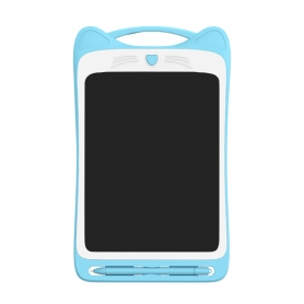 Tableta LCD Pyramid®, 8.5 inch, scris si desenat pentru copii, o singura culoare de desen, albastru, H8C