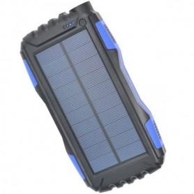 Acumulator extern power bank, 30000 mAh, brand Pyramid®, cu incarcare solara