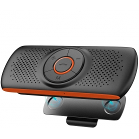 Car Kit Auto Difuzor Bluetooth handsfree pentru parasolar auto, Wireless Audio Receiver,  CA2020