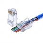 Conector la retea EZ rj45 Cat6 cu 8 pini