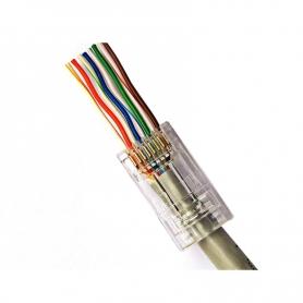 Conector la retea EZ rj45 Cat5 cu 8 pini