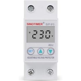Releu siguranta digitala  de protectie tensiune 63A, SVP-915, ecran  LED, recuperare automata, SVP-915-63A