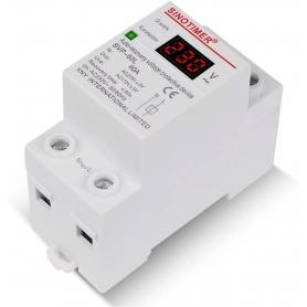 Releu siguranta digitala  de protectie tensiune 40A, 230V, SVP-60L, recuperare automata