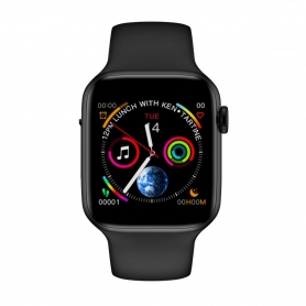 Smartwatch X7, bluetooth 4.0, carcasa din aluminiu,masoara distante si arderea caloriilor, negru, display 1.54 inch