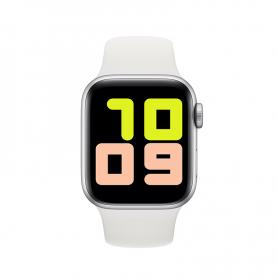 Smartwatch X7, bluetooth 4.0, carcasa din aluminiu,masoara distante si arderea caloriilor, alb, display 1.54 inch