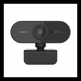 Camera Web Full HD 1080p cu microfon incorporat USB 2.0 Plug and play, pentru PC sau laptop, negru, WEB01