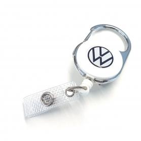 Suport original pentru ecusoane VW, alb