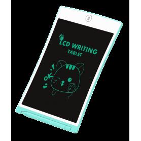 Tableta LCD Pyramid®, 7 inch, scris si desenat pentru copii, o singura culoare de desen, albastru, H7B