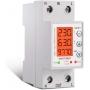Releu siguranta digitala  de protectie tensiune programabil intre 1-63A, 220V,  recuperare automata, SVP-977