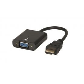 Adaptor Pyramid®️ VGA la HDMI fara audio, VGATOHDMI7