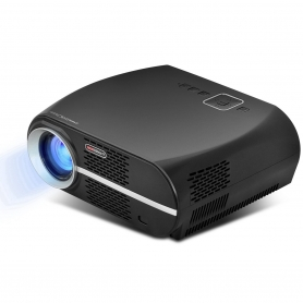 Videoproiector LED, GP100UP, Android 6.0.1, Wifi, Lan, Bluetooth LCD 1080P Full-HD Level Image Quality, 3500 lumeni