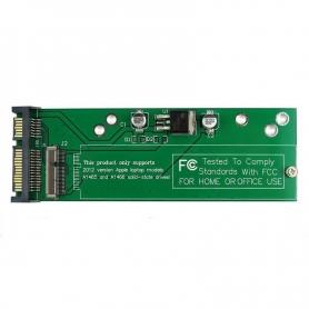 Adaptor SSD Card la SATA pentru  MacBook Air, (an doar 2012), suporta modelele A1465 A1466