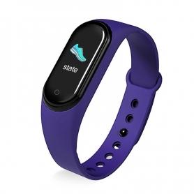 Bratata fitness M5P, functie telefon, notificari, monitorizare activitati, puls somn, oxigen, puls, mov