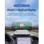 Aparat diagnosticare si afisaj informatii bord digital, OBD2 GPS de tip HUD, PYRAMID®, pentru tesla model 3 si model y , T3