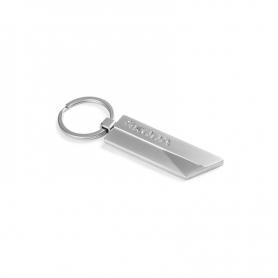 Breloc Skoda cu pandantiv din metal, breloc cu inscriptionare argintie 000087010BH, SKODA3