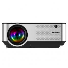Mini Videoproiector LED Pyramid® ,TV TUNNER, 720P, 2800 Lumeni, portabil, Full HD pentru home theater, jocuri, office, C9-ATV