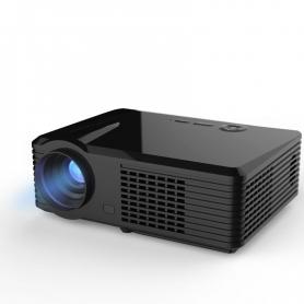 Videoproiector S220, PYRAMID®, 2500 lumeni, TV tunner, 800x480 , gaming, office, 2 x HDMI, 2 x usb, 1 x VGA, negru, S220