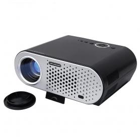 Videoproiector GP90, PYRAMID®, 3200 lumeni, 1280*800 HD, office, gaming, 2 x HDMI, 2 x usb, 1 x VGA, negru, GP90